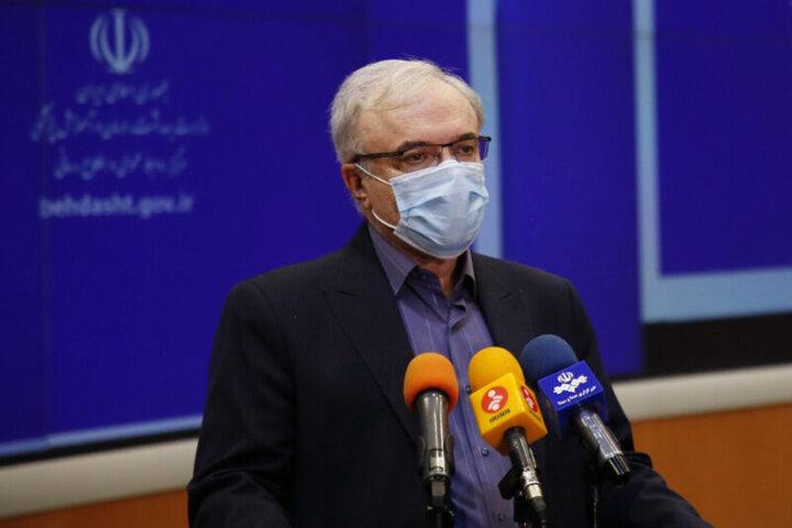 تزریق یک میلیون دوز واکسن کرونا در ایران آغاز شد