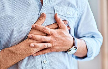 درمان درد قفسه سینه, دلایل درد قفسه سینه, درمان خانگی درد قفسه سینه