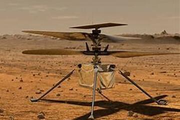 پرواز موفق هلیکوپتر ۸۵ میلیون دلاری ناسا در مریخ / فیلم