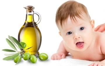 خواص بینظیر روغنزیتون برای نوزادان