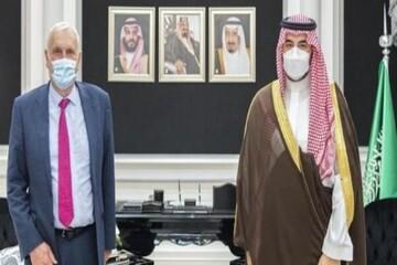 دیدار فرستاده جانسون با معاون وزیر دفاع عربستان