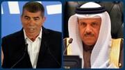 تماس تلفنی وزیر خارجه بحرین با گابی اشکنازی