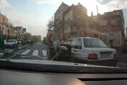 لحظات نفسگیر تعقیب و گریز خلافکاران توسط پلیس تهران / فیلم