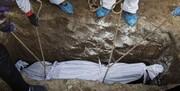 رکورد بی سابقه آمار فوتیهای کرونا در بهشت زهرا