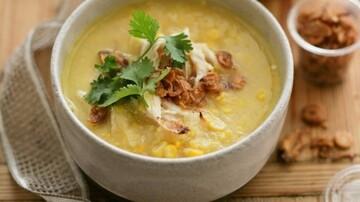 دستور پخت سوپ ذرت شیرین برای افطار