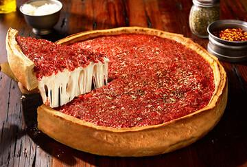 دستور پخت پیتزا شیکاگو خوشمزه و لذیذ + مواد لازم