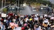 آواره شدن ۲۵۰ هزار میانماری از آغاز کودتا در این کشور