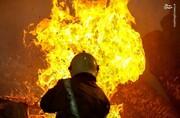بیمارستان بیماران کرونایی در هند آتش گرفت / فیلم