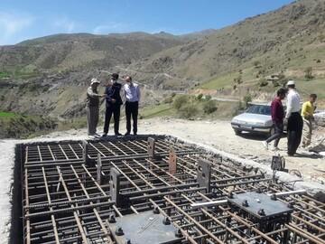 آغاز احداث بزرگترین پل شیشهای معلق خاورمیانه در روستای نگل سنندج