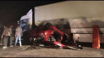 ۳ کشته در تصادف خونین در محور سروآباد مریوان
