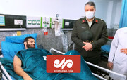 صحنه ترور رییس پلیس مواد مخدر خرمشهر / فیلم