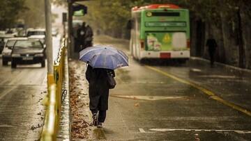 بارش باران و باد شدید ۵ روزه در ۱۹ استان کشور