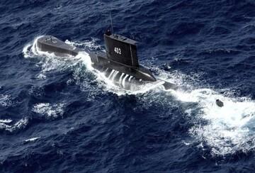 غرق شدن زیردریایی اندونزیایی با ۵۳ سرنشین