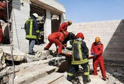 ریزش هولناک آوار در مشهد/ ۴ نفر کشته و زخمی شدند