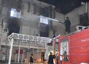 صحنه انفجار مرگبار در بیمارستان بیماران کرونایی در عراق / فیلم