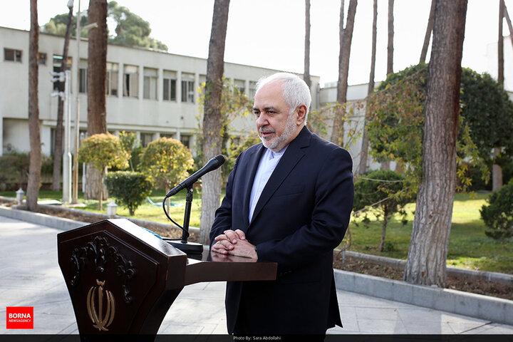 ظریف در پیامی حادثه انفجار بیمارستان بغداد را تسلیت گفت