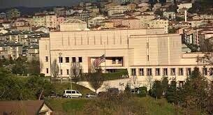 بسته شدن سفارت آمریکا در ترکیه به مدت ۲ روز