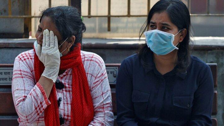 فیلمی وحشتناک از شرایط بحرانی کرونا در هند
