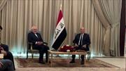 دیدار ظریف با رییسجمهور عراق