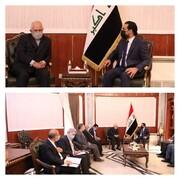 دیدار ظریف با رییس مجلس عراق