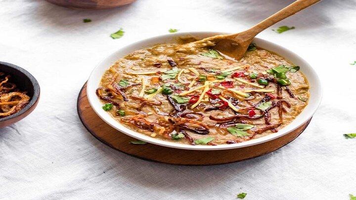 دستور پخت حلیم لوبیا چیتی خوشمزه برای افطار