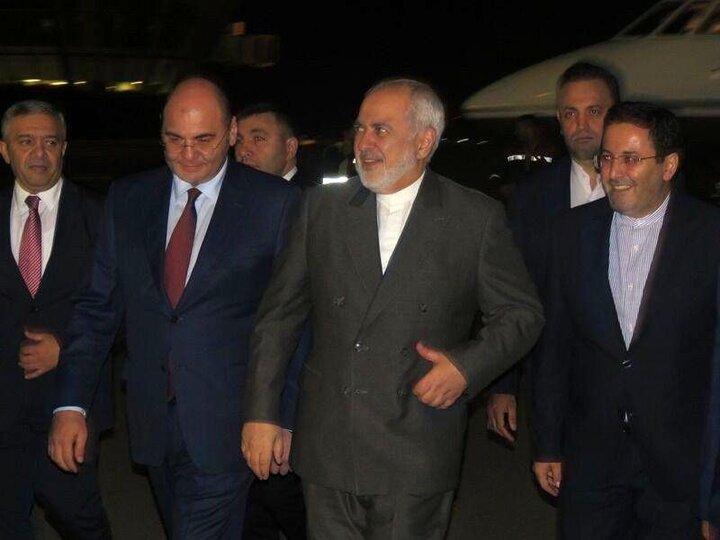 اظهارات وزیر امورخارجه ایران در بدو ورود به عراق / فیلم