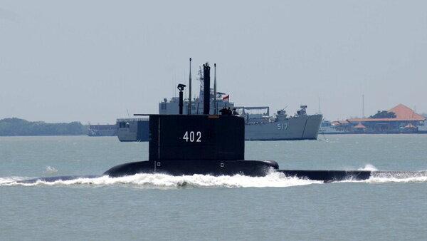 پیام تسلیت پوتین برای سانحه غرق شدن زیردریایی اندونزی
