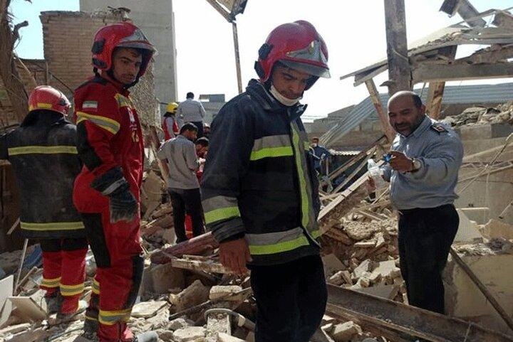 تصاویری از انفجار شدید در شهرک ولیعصر تهران/ فیلم