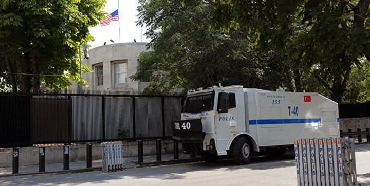 تعطیلی سفارت و کنسولگریهای آمریکا در ترکیه