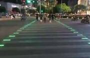طراحی جالب خطوط عابر پیاده جدید / فیلم