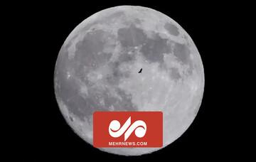 تصاویری دیدنی از لحظه وقوع پدیده ابر ماه در نقاط مختلف جهان / فیلم