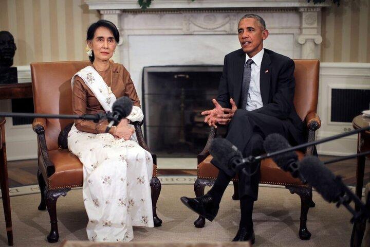 انتقاد باراک اوباما از رفتار ارتش میانمار با معترضان ضد کودتا