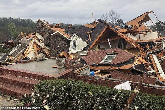 اعلام «وضعیت فاجعه» در ایالت آلاباما از سوی بایدن