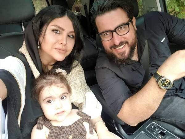 جشن تولد سه سالگی دختر محسن کیایی / عکس
