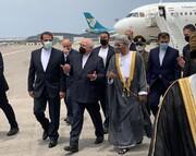 ظریف دقایقی پیش وارد عمان شد