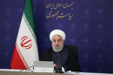 روحانی: با سارقان فایل صوتی قاطعانه برخورد شود / فیلم