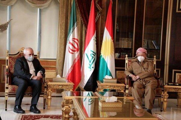 دیدار ظریف با وزیر خارجه عمان