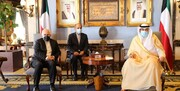 دیدار ظریف با نخست وزیر کویت