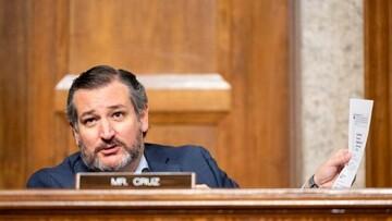 چرت زدن سناتور آمریکایی هنگام سخنرانی جو بایدن در کنگره / فیلم