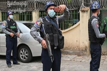 ۶ افسر نظامی میانمار بر اثر انفجار در یک پایگاه هوایی کشته شدند