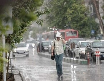 گزارش آب و هوا ۱۳ اردیبهشت ۱۴۰۰ / بارش باران در کدام استانها شدت میگیرد؟