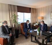 روسای هیأتهای ایران و روسیه در وین دیدار کردند