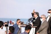 میتینگ سیاسی محمود احمدینژاد در پیک چهارم کرونا در بوشهر / فیلم و عکس