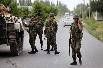 حمله ارتش تاجیکستان به قرقیزستان