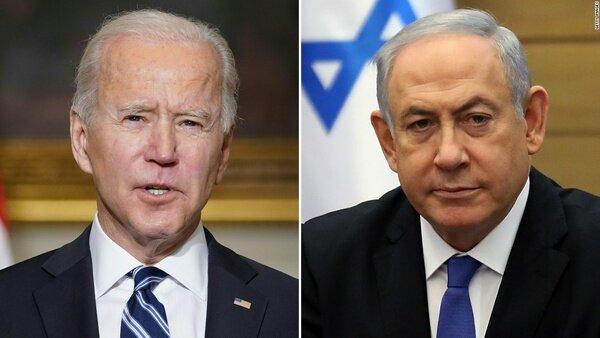 جو بایدن و بنیامین نتانیاهو تلفنی گفت و گو کردند