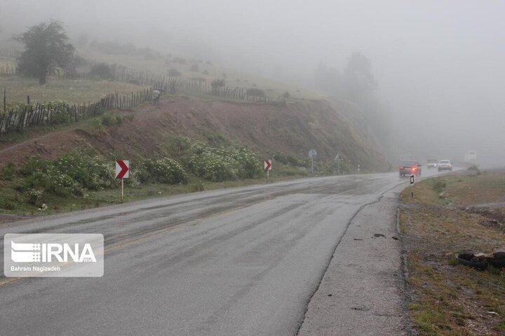 گزارش آب و هوا شنبه ۱۱ اردیبهشت / فعالیت سامانه بارشی در ۱۶ استان کشور