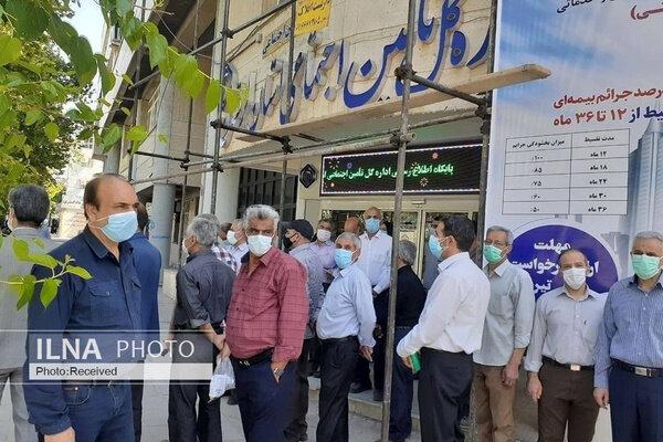 تجمع اعتراضی بازنشستگان کارگری در برخی استانها