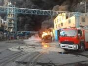 اولین تصاویر از آتشسوزی مهیب در قم