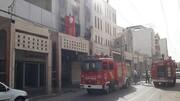 روز آتشسوزی؛ یک مجتمع تجاری هم در آبادان آتش گرفت!