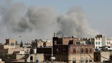 بمباران مأرب یمن از سوی جنگندههای ائتلاف سعودی